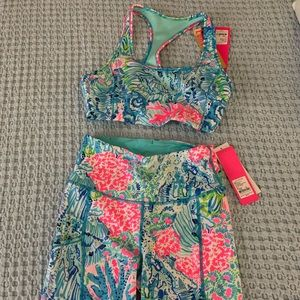 NWT Lilly Pulitzer Luxletic Set